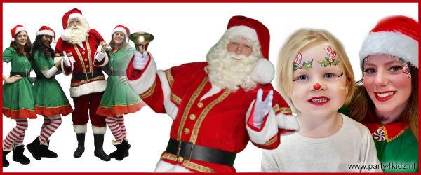 Kerstman & kerstelfjes
