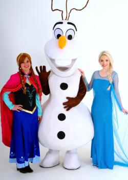 Frozen Elsa Anna en Olaf